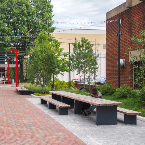 Mobilier urbain - Solid Sets de Pique-Niqueh, Philadelphia (US)
