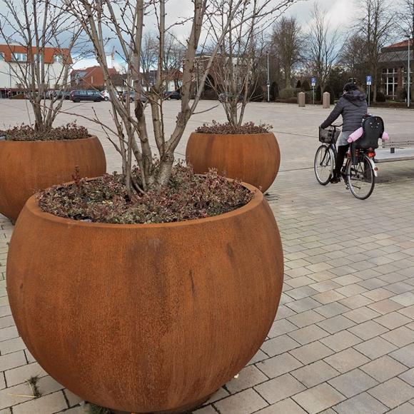 Globe Tree Planters