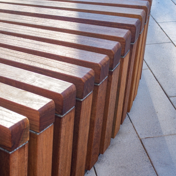 Bancs Solid Skirt Circulaires