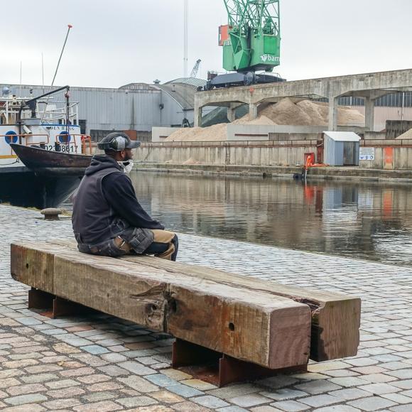Mobilier urbain - Drifter Bench, The Hague (NL)