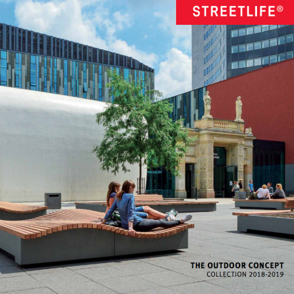 Street furniture Streetlife Catalogue 2018-2019