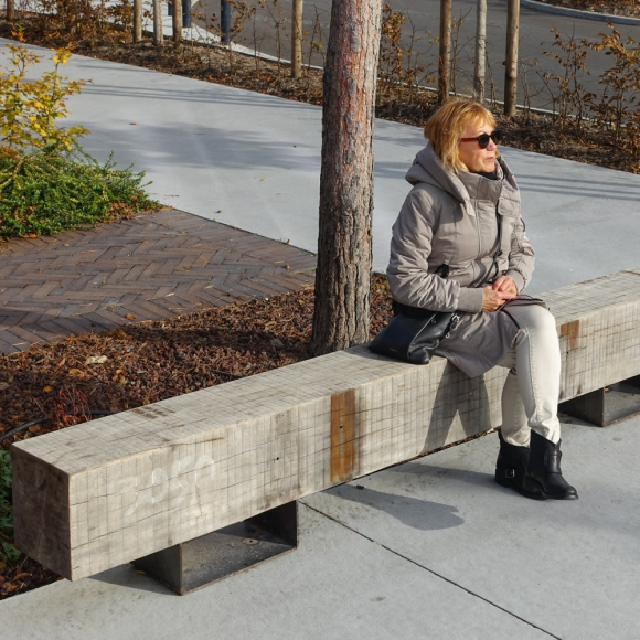 Drifter Bench in Ratail Park Amiens