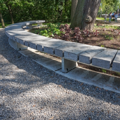 Stone Bänke Granito
