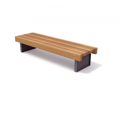 Solid Serif Benches
