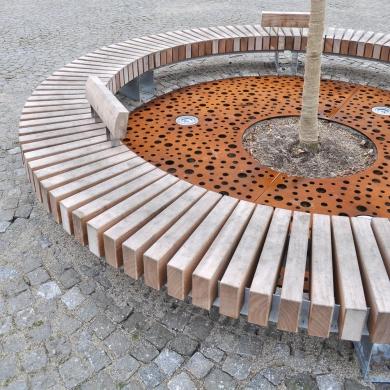Tree Grilles CorTen Round
