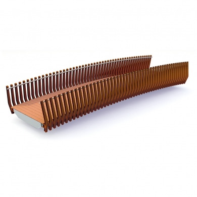 Millipede Bridges CorTen