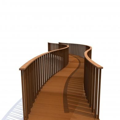 Bowie Serpentine Bridges