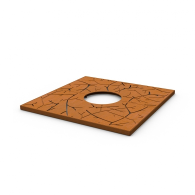 Tree Grilles CorTen Square