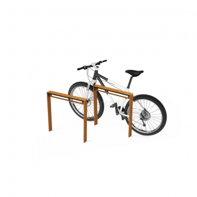 CorTen Bicycle Racks