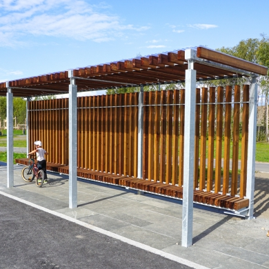 Street furniture - Rough&Ready Shades, Brumunddal (NO)