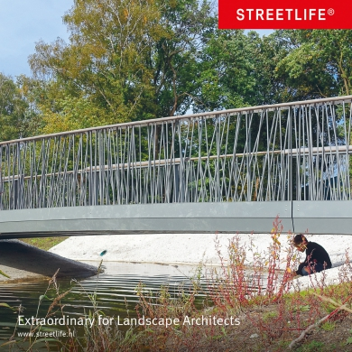 sustainable streetfurniture, bridges